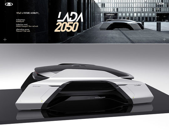 Futuristic Lada 2050 Concept Vehicle Is Fully Autonomous