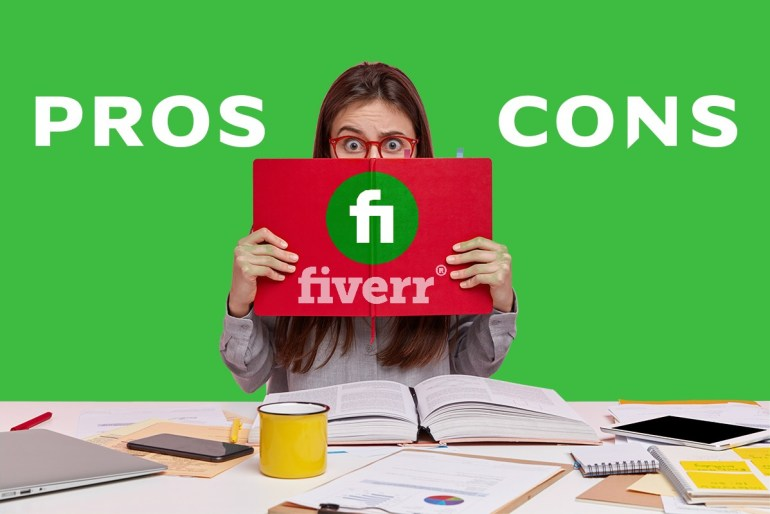 Fiverr complete guide for beginners. here is the Fiverr pros and cons