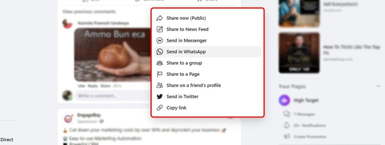 share your posts to groups