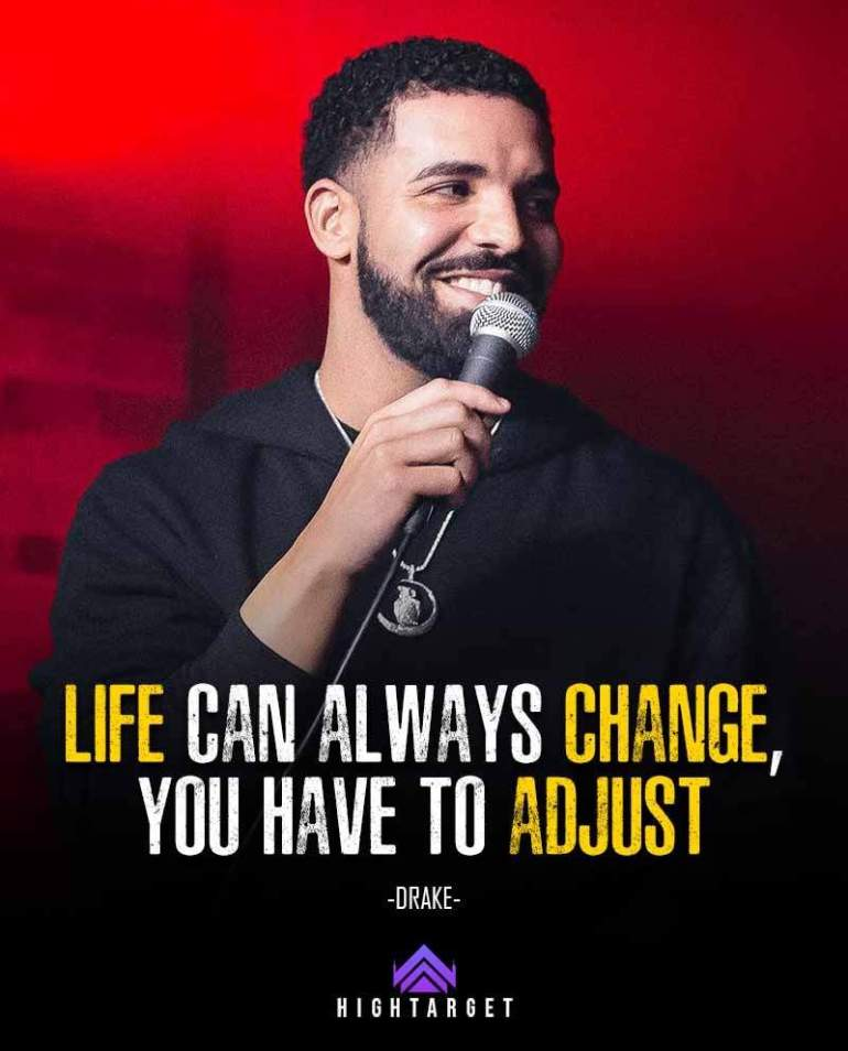 Life advices by Drake for success