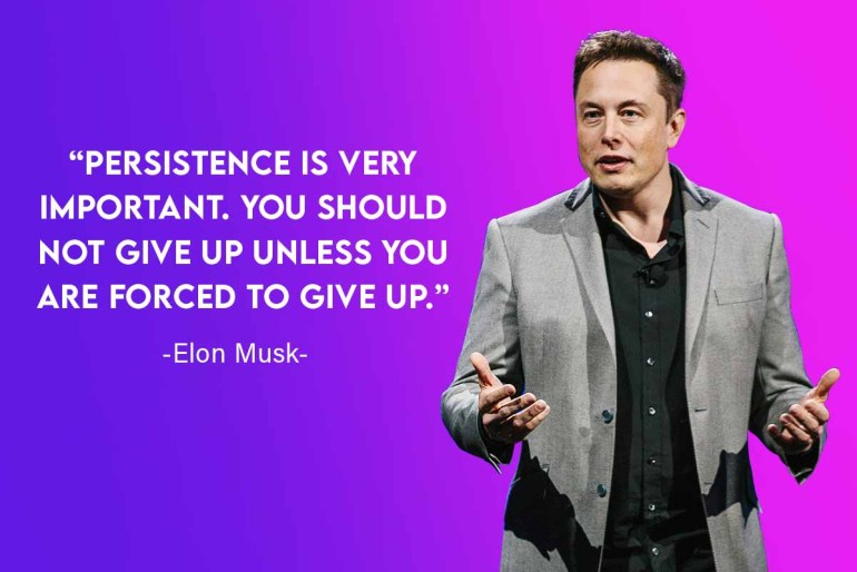 elon musk leadership quotes for business