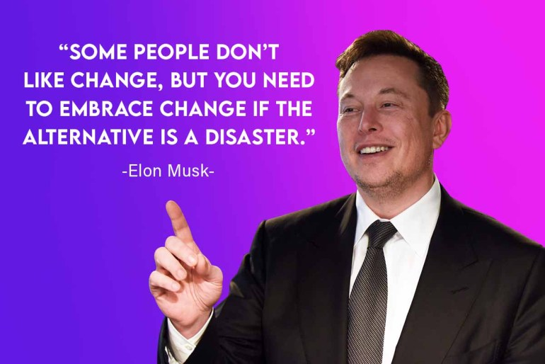leadership quotes by elon musk  businesses