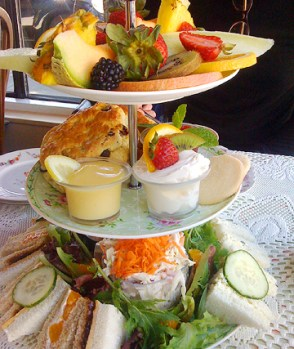 Afternoon Tea at Lovejoy's Tea Room