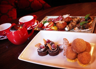 Afternoon Tea at Terra Rosa in Melbourne