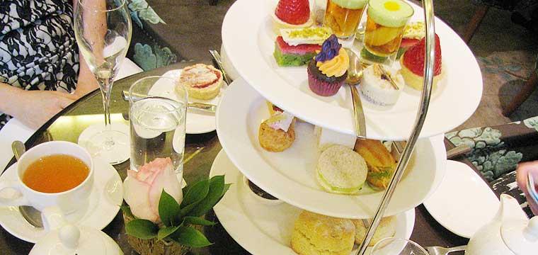 High Tea at the Langham Auckland
