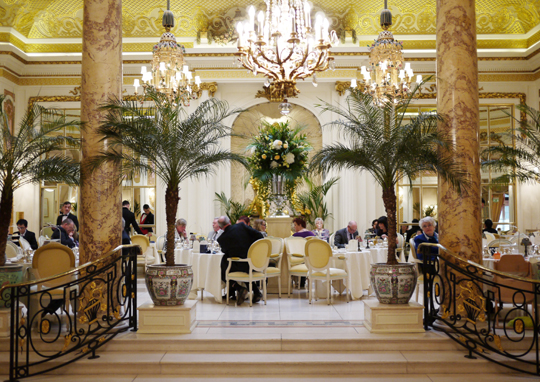 The Palm Court at The Ritz London