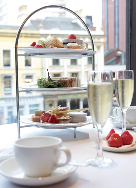 Afternoon Tea at The Europa Hotel, Belfast