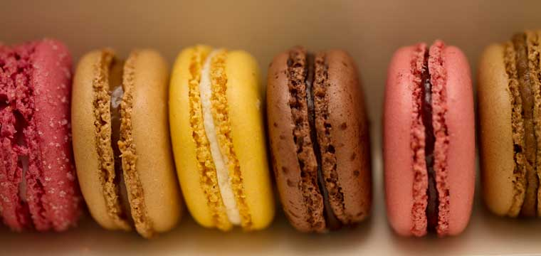 Macarons from Laduree
