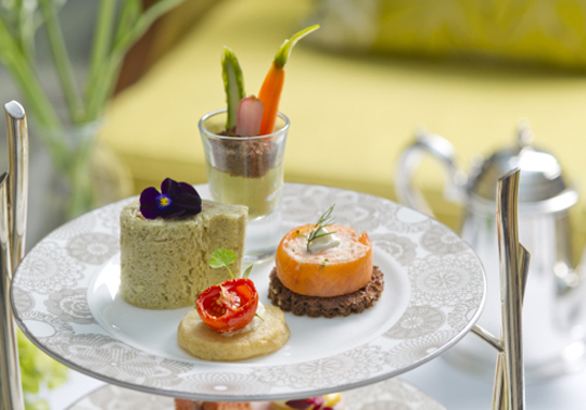 Edible Garden Afternoon Tea InterContinental Westminster