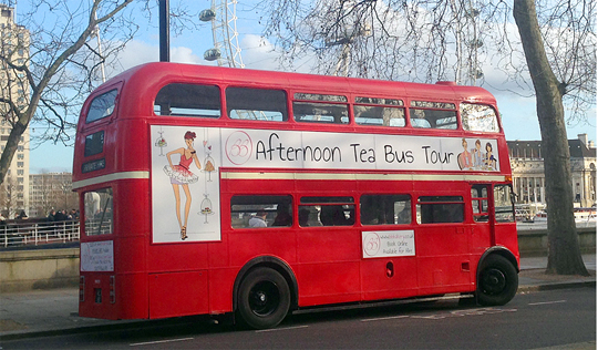 Rodney the Afternoon Tea Bus