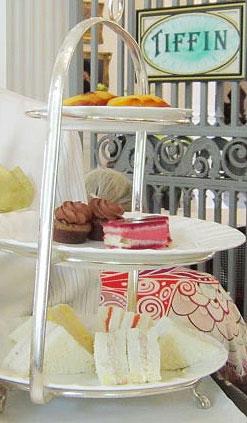 High Tea at The Raffles Hotel