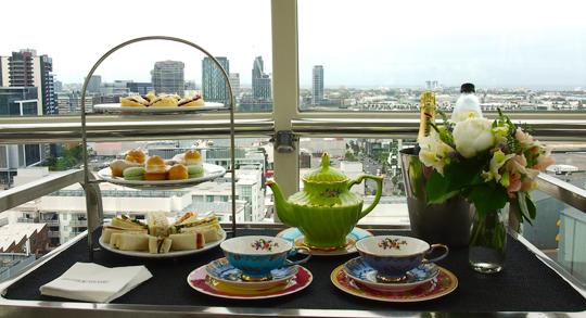 High Tea on the Melbourne Star