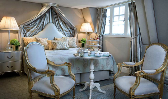 Afternoon Tea can also be served in your room