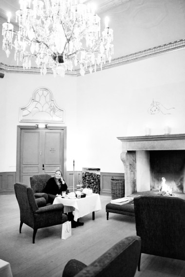 Pernille Norregaard at The Nimb Hotel