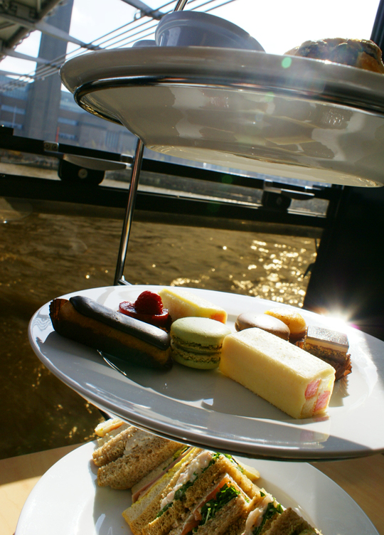 Royally Rich Afternoon Tea on City Cruises London