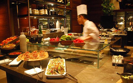 The Open Kitchen, Collins Kitchen, The Grand Hyatt Melbourne