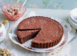 Chocolate and Ginger Tart