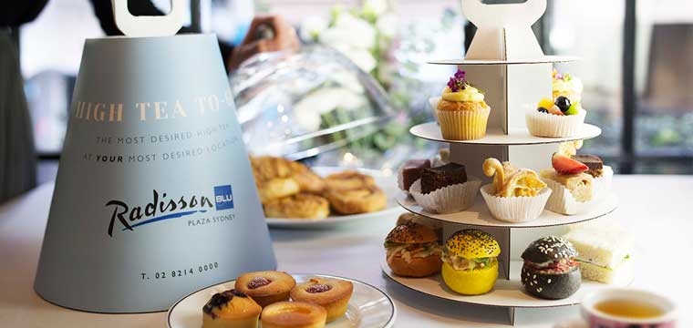 Take away High Tea at the Radisson Blu Plaza Hotel Sydney