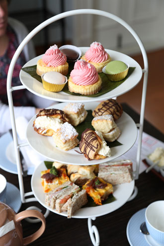 High Tea at Gear Homestead, Porirua NZ
