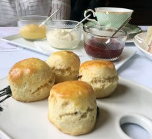 Scones from the Strangers Corridor at Parliament of Victoria