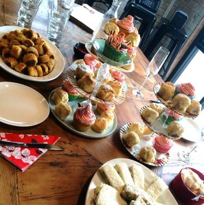 Julie Goodwin's high tea