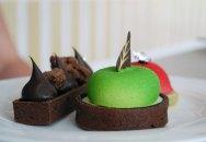 Green apple and calvados tart