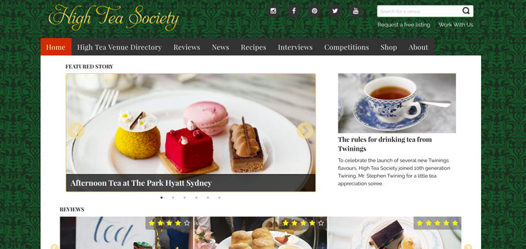 High Tea Society
