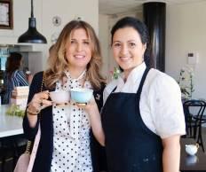 Cristina Re and Rosalin Virnik