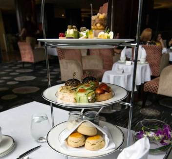 High Tea at Shangri-La hotel Sydney