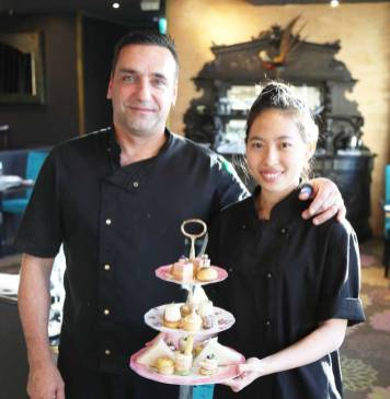 Executive Chef Laurent Loudeac and Pastry Chef Mariah Chua