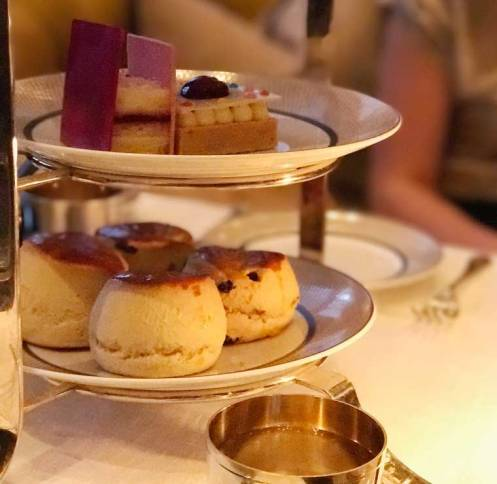 Rosewood London's Art Afternoon Tea Menu