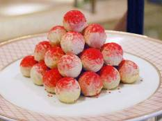 Raspberry chocolate truffle