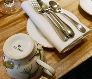The Kit Kemp designed Wedgwood china