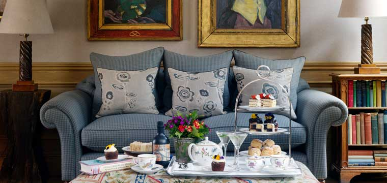 Afternoon Tea at Charlotte Street Hotel London