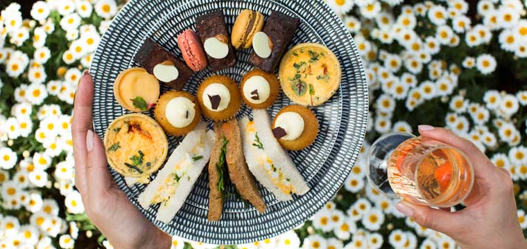 High Tea at Calyx - supplied image