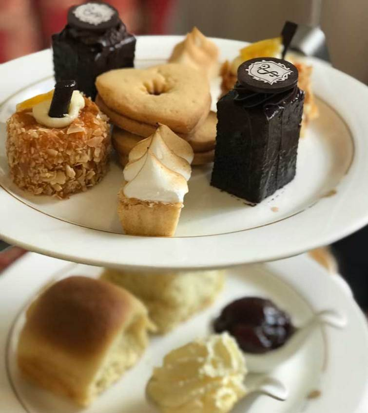 High Tea at the Shingle Inn