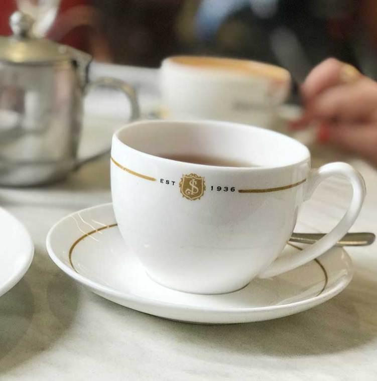 High Tea at the Shingle Inn