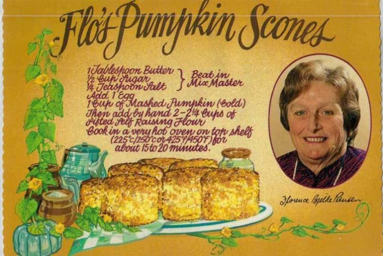 Flo's Pumpkin Scones