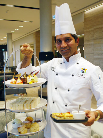 Pastry Chef Gagan Sharma