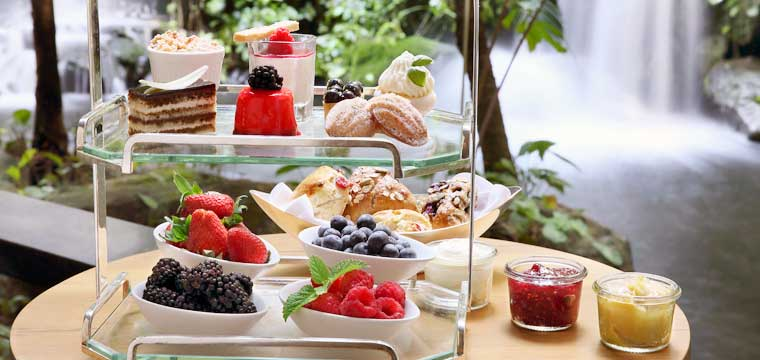 High tea at 10 Scott's Grand Hyatt Singapore - supplied photo