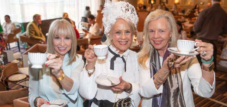 Judy Brine, Di Cant and Mary Dickinson