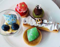 Selection of gateaux