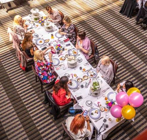The Clarke Sisters' High Tea at the InterContinental Melbourne The Rialto