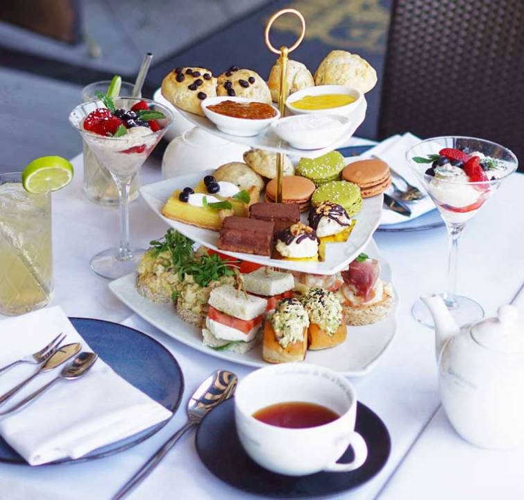 High Tea at The Georgian Santa Monica (supplied image)