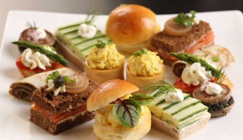 Tea Sandwiches - supplied image
