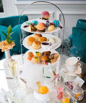 Afternoon Tea at the Ampersand Hotel