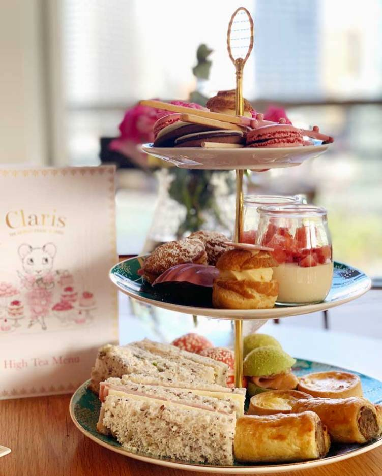 High Tea at Atelier, Sofitel Sydney Darling Harbour