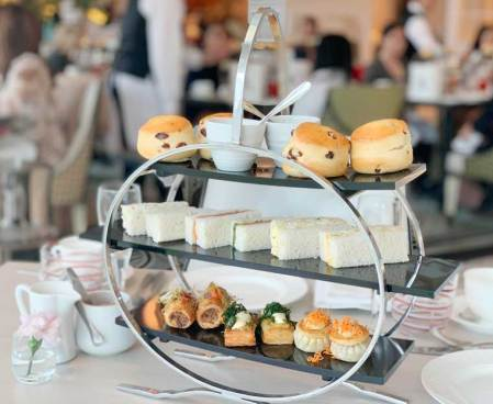 Spring High Tea at The Conservatory Crown Melbourne