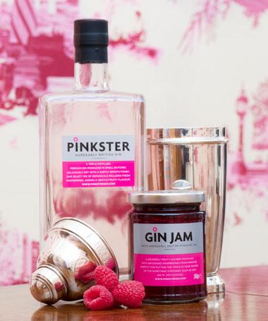 Pinkster Gin & Gin Jam