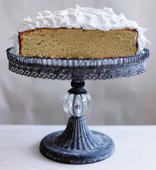 Lime & Coconut Island Cake